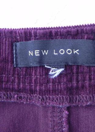 Юбка вельветовая бордо new look5