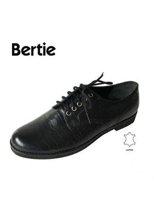 3541 туфлі bertie uk4/ 37 шкіра нові