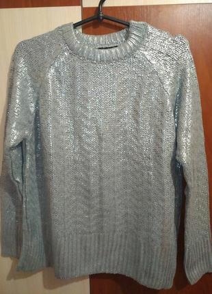Модный свитерок с напылением