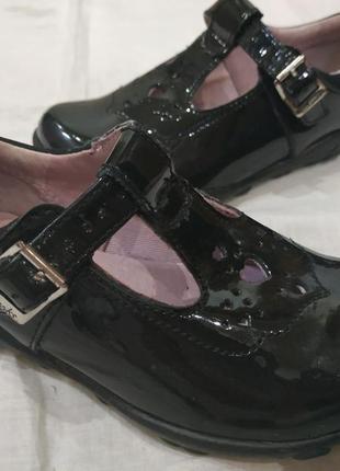 Туфли туфельки clarks на 23-24 размер