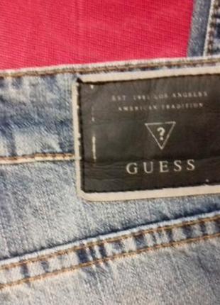 Женские джинсы от guess. американский дорогой бренд. размер 28 , будут на м.4