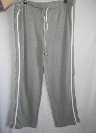 Теплые новые домашние штаны большого размера