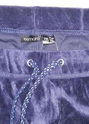 Велюровые штаны esmara! размер xl4