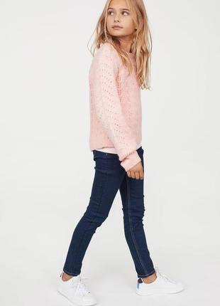 Зауженные джинсы скинни на резинке next р.10-11 лет на рост 140-146см