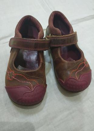 Туфельки туфли clarks на 22-23 размер