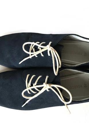 3542 туфлі marco tozzi 40  шкіра нові6 фото