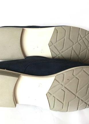 3542 туфлі marco tozzi 40  шкіра нові10 фото