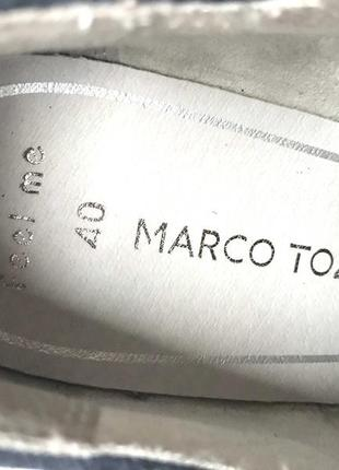 3542 туфлі marco tozzi 40  шкіра нові8 фото