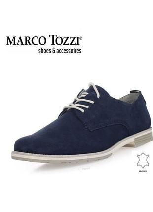 3542 туфлі marco tozzi 40  шкіра нові1 фото