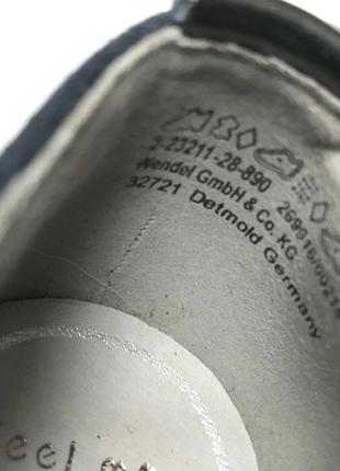 3542 туфлі marco tozzi 40  шкіра нові9 фото
