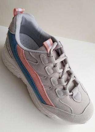 Жіночі кросівки (кроссовки) сірого кольору, розміри 37, 38.6 фото