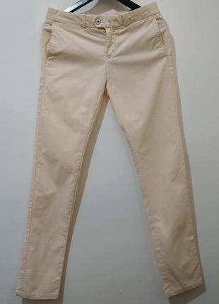 Стильные фирменные  брюки от hilfiger denim  - оригинал 36 р( сост отличное)