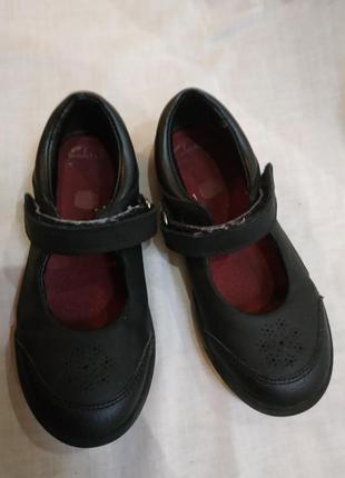 Clarks туфли туфельки на 27 размер