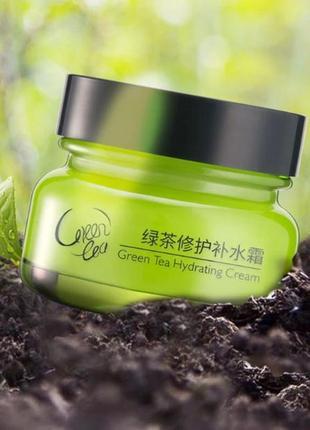 Увлажняющий крем с зеленым чаем laikou green tea hydrating cream 50ml