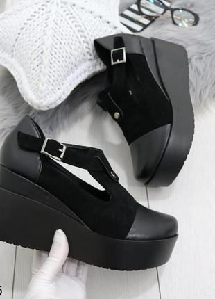 Стильные туфельки на платферме