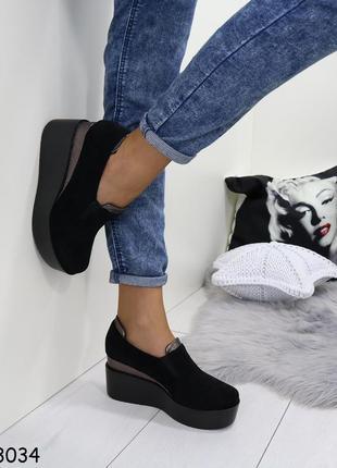 Стильные туфельки на платформе