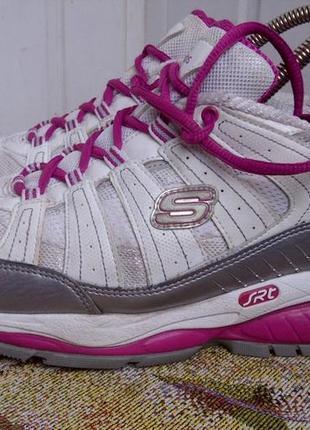 Кроссовки для фитнеса с ортопедической подошвой skechers shape ups.