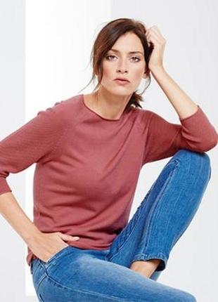 Стильный розовый джемпер, свитерок, tcm, tchibo, германия, евро размер 48-50, наш 54-56