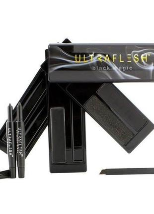Набор ultraflesh black magic the ultimate jet black eyeliner.