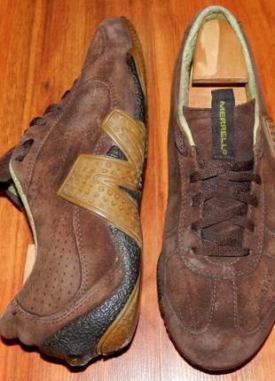Merrell ! оригинальные, кожаные, невероятно крутые трекинговые кроссовки