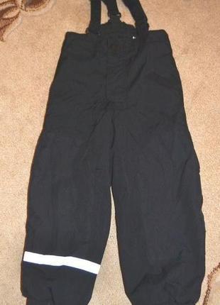 Термо брюки лыжные h&m р. 6-7- лет 122 см германия