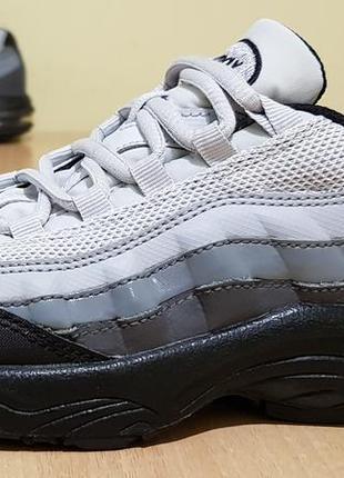"""Оригинальные кожаные кроссовки nike """"air max 95"""" 34р-21,5см-us2.5"""