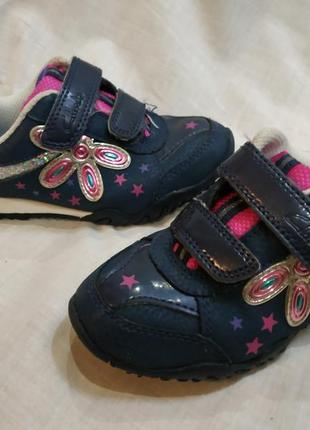 Clarks кроссовки на 25-25.5 размер