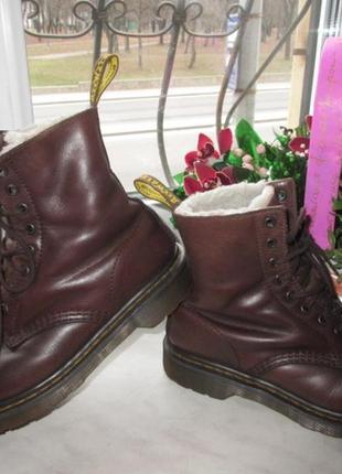 Кожаные ботинки dr.martens 39 р. оригинал