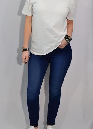 2595/40 белая хлопковая футболка tu m