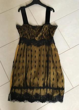 Платье фирменное стильное модное дорогой бренд twin-set размер 34 или s
