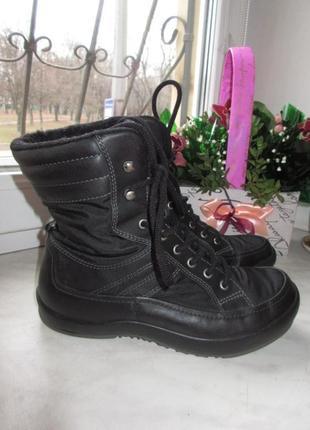 Зимние ботинки ecco gore-tex 39 р.