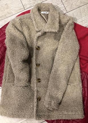Teddy coat /teddy пальто