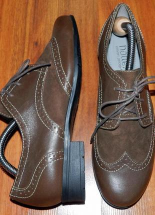 Hotter ! оригинальные, стильные,кожаные невероятно крутые туфли