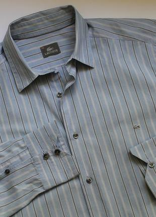 Рубашка lаcoste размер l