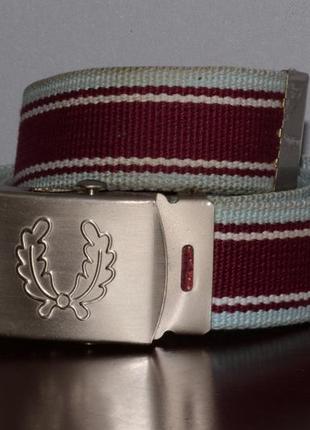 Ремень fred perry vintage belt