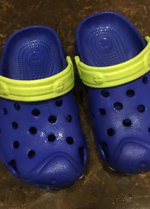 Кроксы сандали босоножки 24/25 размер стелька 15см