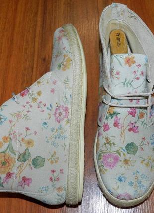 Schuh ! оригинальные, кожаные, невероятно яркие ботинки