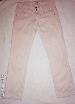 Джинсовые штаны  bershka