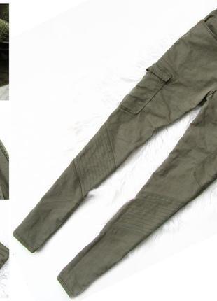 Стильные брюки  штаны милитари m&co kylie