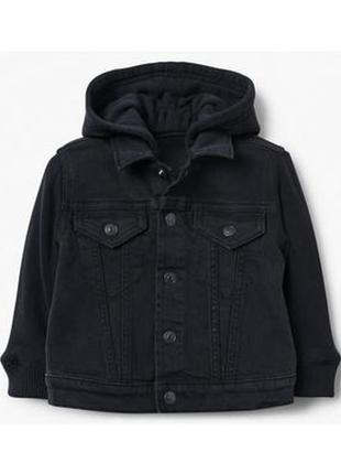 Джинсовая куртка для мальчика 3-4 года gymboree