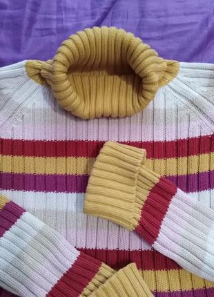 Стильный  свитерок в полоску  yessica