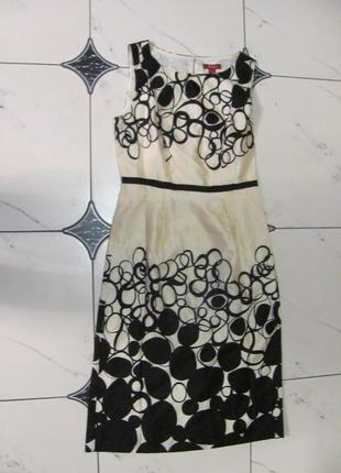 Шикарное платье шелк