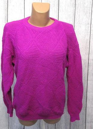 Стильный свитерок фуксия