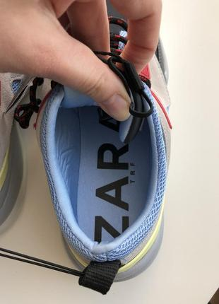 Новые кроссовки zara 35,36,37,размер5