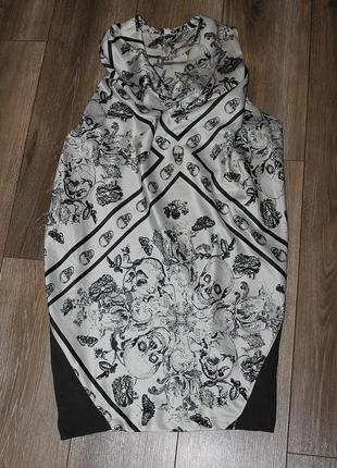 Стильное платье eksept с принтом ,оригинального кроя