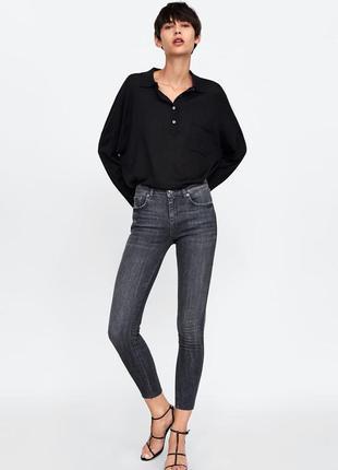 Шикарные джинсы zara woman с лампасами, 44р, оригинал, испания
