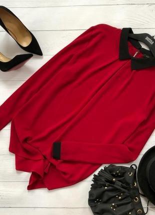 Роскошная комбинированная блуза piazza italia