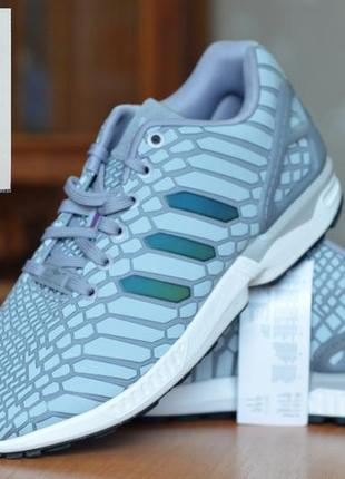 """Мужские кроссовки adidas zx flux """"xeno reflective"""", оригинал, (р. 41)"""