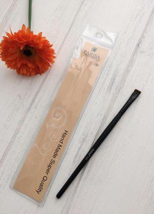 Parisa кисть для макияжа № p16 (для теней, подводки, плоская квадратная малая)