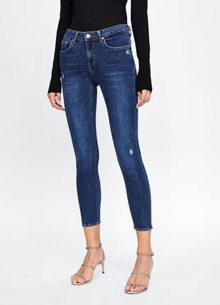 Шикарные джинсы zara woman, 38, 42р, оригинал, испания